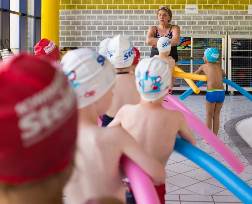 Swimming courses for slightly advanced swimmers in Vienna