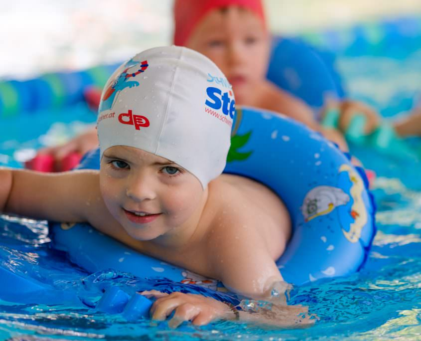 Beginner swimming courses for children in Vienna