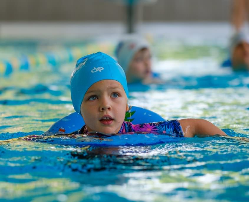 Motivating beginner swimming courses for children in Vienna