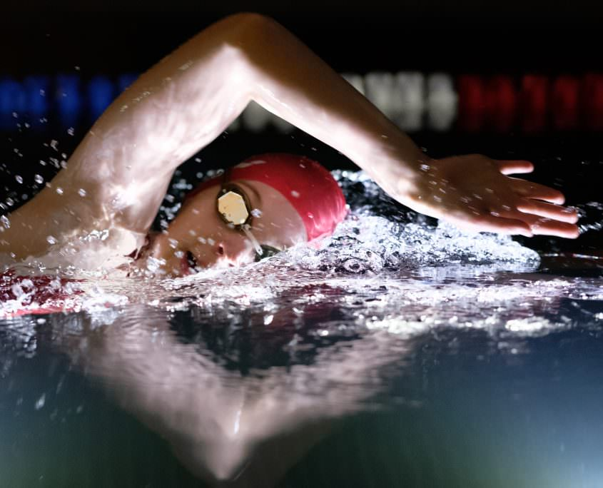 Perfectiong front crawl swimming courses in Vienna