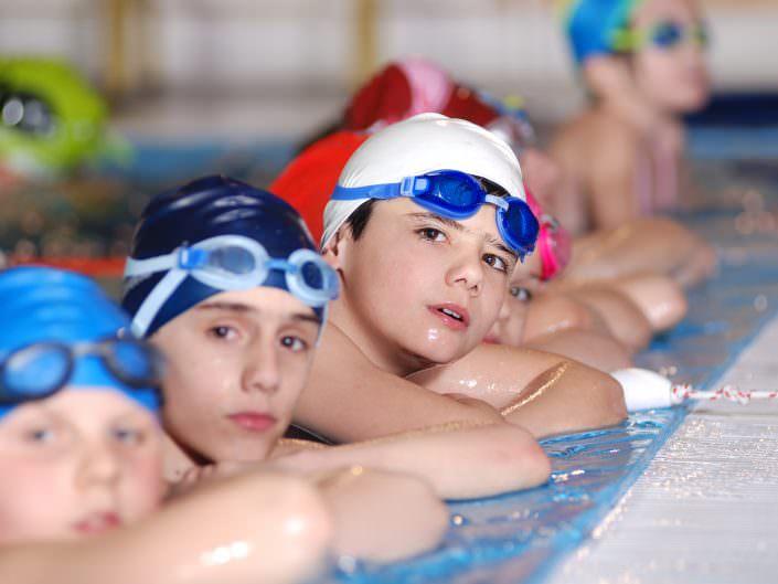 Gruppenunterricht Schwimmkurse Wien