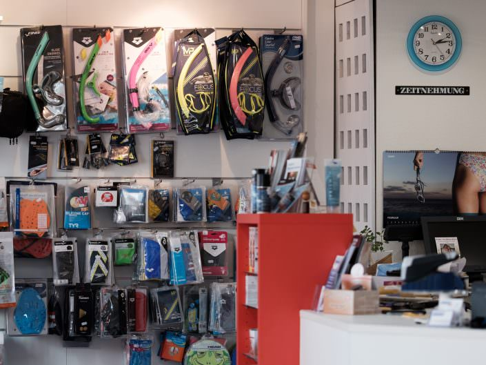 The specialty shop for professionals - Schwimmsport Steiner