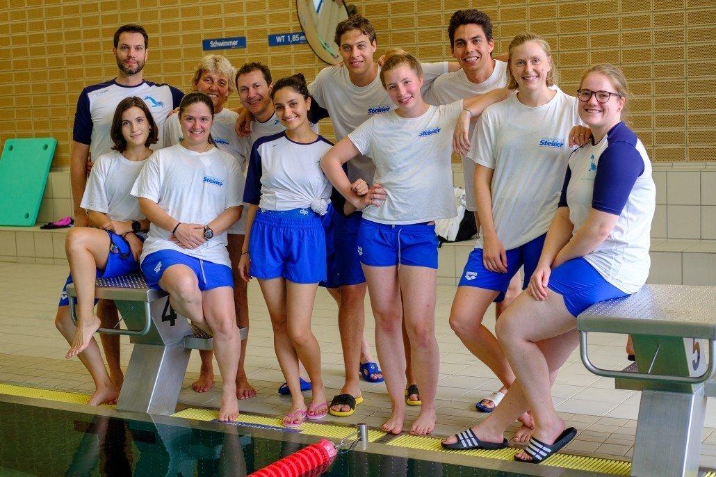 Perfekt schwimmen lernen mit Schwimmschule Steiner in Wien