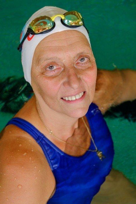 Schwimmschule Steiner - Andrea Steiner - Mehrfache Staatsmeisterin Schwimmen