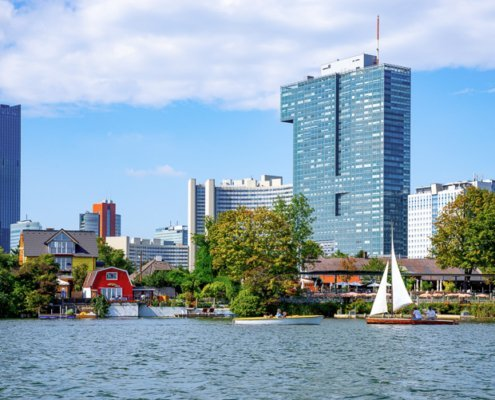 Open water swimming in Vienna - The most beautiful places in Vienna