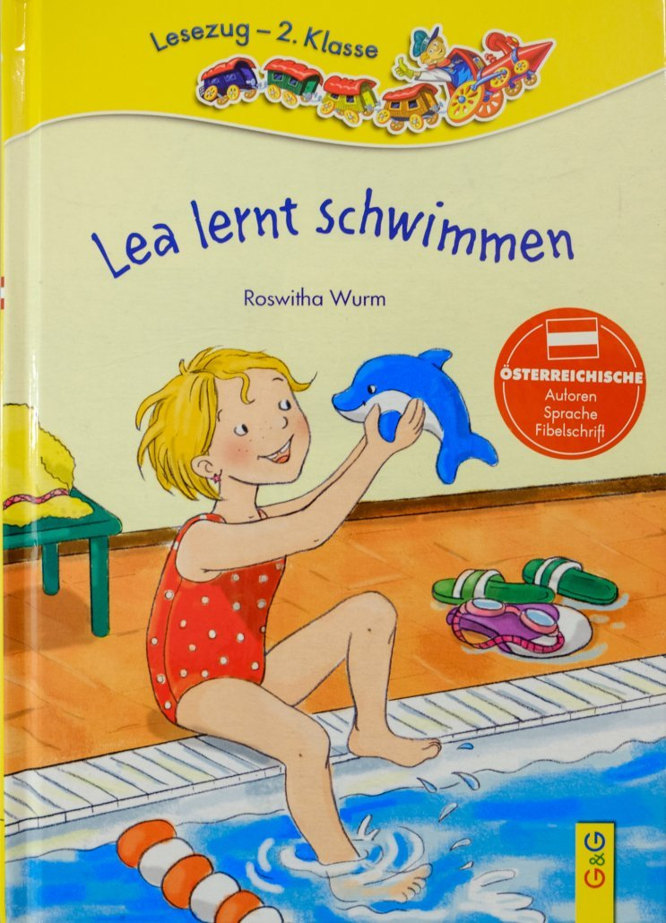 This children's book was developed in cooperation with the Steiner Swimming School and published in Austria. It is the ideal motivational aid for children in our swimming courses.